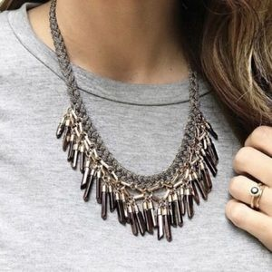 Stella&dot Bora Fringe Necklace.